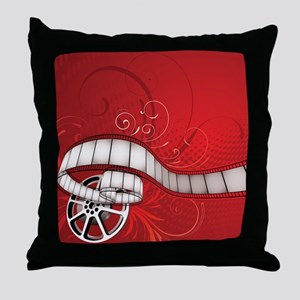 FILM REEL Throw Pillow